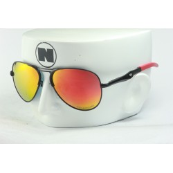 Recon Aviator Matte Black / Ruby Fire Polarized Lens