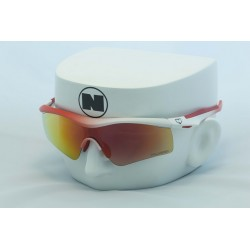 Blitz XI Matte White Fade Red Sports Series